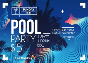 mad-monkey-cairns-free-event-sunday-12pm-pool-party