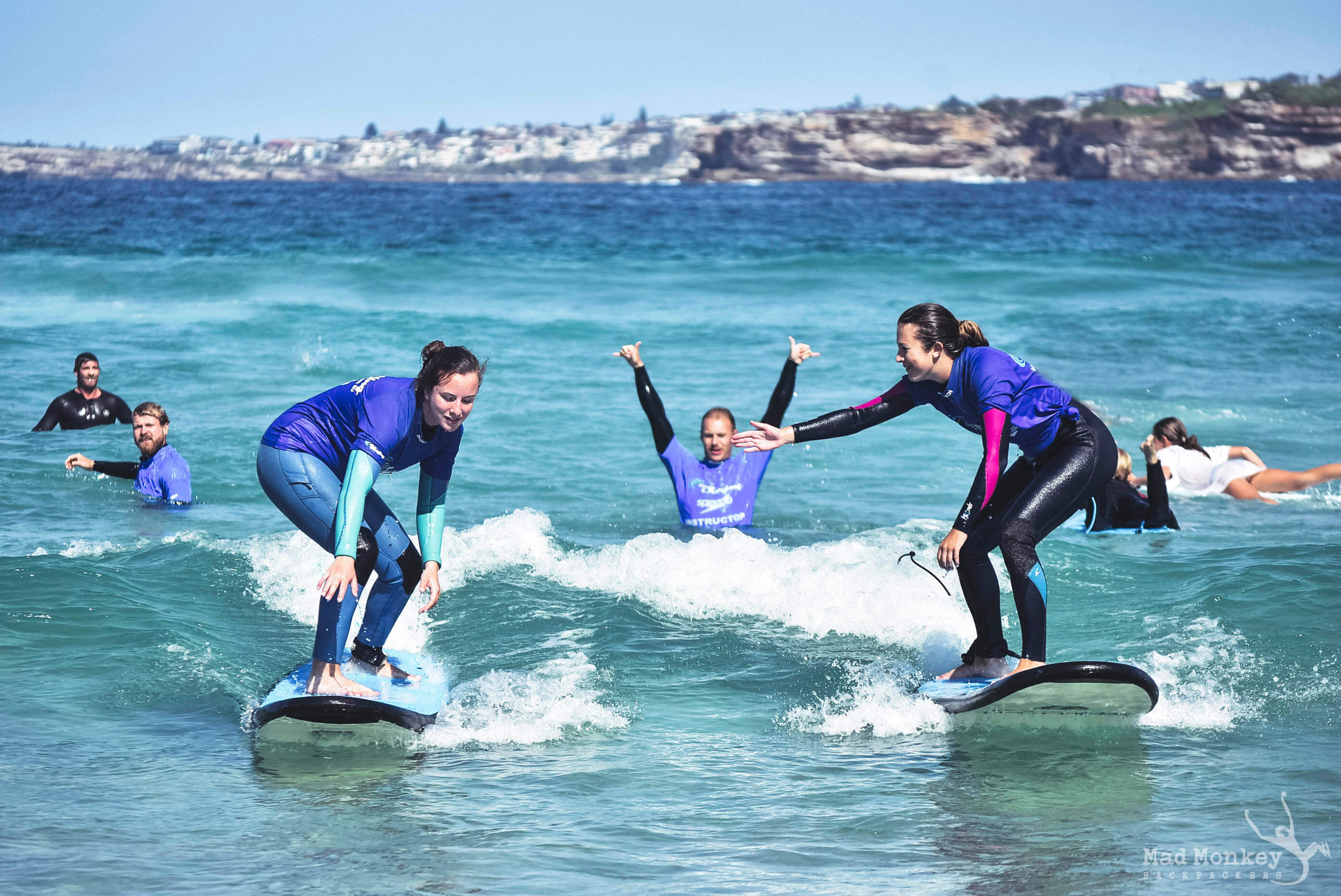 bondi-beach-surfing-in-sydney